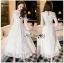 Lace Dress เดรสผ้าลูกไม้สีออฟไวท์ thumbnail 1