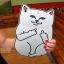 เคสซิลิโคน แมวดำ แมวขาว (เคส iPad mini 4) thumbnail 5