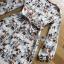 Lady Anne Autumn Dress with Flower Belt thumbnail 7