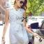 Lady Natasha Sophisticated Trench Shirt Dress thumbnail 3