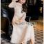 Lace Dress เดรสผ้าลูกไม้สีออฟไวท์ thumbnail 2