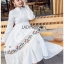 Lady Ribbon White Cotton Maxi Dress thumbnail 3