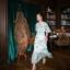 Maxi Dress แขนกว้าง สีพาสเทล thumbnail 2