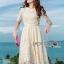 Lady Nasha Sweet Classic White Lace Dress thumbnail 3