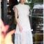 Lady Ellie Fancy Ruffle White Lace Dress thumbnail 2