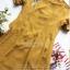 เดรสลุคสาวเกาหลีโทนสีเหลืองมาสตาร์ด thumbnail 9