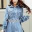 เซ็ทลุคสาวเกาหลี ทรงเสื้อสูทแต่งปกโค้ง ทรงคอบัว thumbnail 2