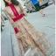 Lady Fancy Colourful Lace Maxi Dress thumbnail 5