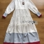 Lady Elise Minimal Layered Long Dress thumbnail 7