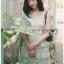 Grey Lace Dress Lady Ribbon ขายเดรส thumbnail 1