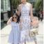 Lady Chloe Casual Printed Dress เดรสยาวแขนกุด thumbnail 3