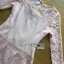 Lady Sophia Pink Nude Polyester and Lace Dress thumbnail 5