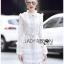 Mini Dress เดรสผ้าลูกไม้สีขาวตกแต่งริบบิ้น thumbnail 2