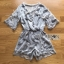 Lady Ivy Feather Embroidered Chiffon Playsuit thumbnail 9