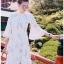Chiffon Ruffle Maxi Dress เดรสยาว thumbnail 1