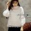 Yves Classic Sweet White Lace Blouse thumbnail 5