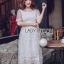 Lady Meredith Delicate Little Flower White Lace Dress thumbnail 3