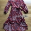 Lady Red Monica Floral Patterned Printed Wrap Dress thumbnail 6