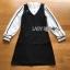 Lady Ribbon Shirt and Black Dress thumbnail 7