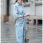 Twisted Shirt Dress Lady Ribbon ขายเชิ้ตเดรส thumbnail 2