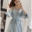 Lady Polly Striped Cotton Shirt Dress thumbnail 5