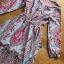 Modern Bohemian Floral Printed Lady Maxi Dress thumbnail 5
