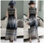 Shirt Maxi Dress with Black thumbnail 2