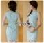 Chic Minty Lady Ribbon Lace Dress thumbnail 2