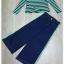 เสื้อพร้อมกางเกงยีนส์สีเขียว thumbnail 6