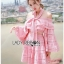 Lady Erika Bubblegum Crop Top and Skirt Set thumbnail 1
