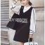 Lady Ribbon Shirt and Black Dress thumbnail 3