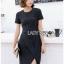 Lady Taylor Minimal Chic Striped Dress thumbnail 6