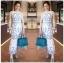 Lady Chloe Casual Printed Dress เดรสยาวแขนกุด thumbnail 2