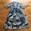 Lady Danielle Feminine Elegant Floral Printed Polyester Dress thumbnail 7