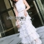Lady Erin Sweet Layered White Lace Dress thumbnail 2