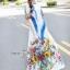 Maxi Dress อกติดกระดุมผ้า thumbnail 4