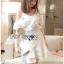 Laser-Cut Ruffle Cotton Dress เดรสผ้าคอตตอนปัก thumbnail 2