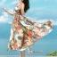 Maxi Dress เกาหลีเดรสสายเดี่ยว thumbnail 5
