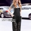 Lady Ribbon Overall Lace Jumpsuit พร้อมเอี๊ยม thumbnail 3