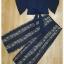 เซ็ทเสื้อกางเกงเกาหลีผ้าชีฟอง thumbnail 10