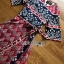 Lady Jane Red and Navy Printed Kimono Dress thumbnail 5