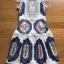 Lady Madison Modern Lace and Crepe Dress thumbnail 7