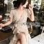 Star Velvet Ruffle Lady Ribbon Dress thumbnail 1