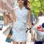 Lady Natasha Sophisticated Trench Shirt Dress thumbnail 2