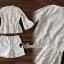 ชุดผ้าลูกไม้สีขาวพร้อมกางเกงขาสั้น thumbnail 4