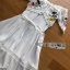 Lady Elise Summer Embroidered Chiffon Dress thumbnail 6