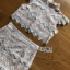 Lady Alessia White lace Cropped Top and Ruffle thumbnail 7