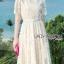 Lady Nasha Sweet Classic White Lace Dress thumbnail 4