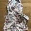 Side-Ribbon Playsuit เพลย์สูทแขนกุดพิมพ์ลายดอกไม้ thumbnail 10
