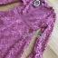 เดรสผ้าลูกไม้สีชมพูเข้มสไล์คลาสสิกโมเดิร์น thumbnail 7